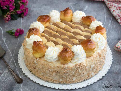 Torta Saint Honorè: ricetta favolosa con passo passo