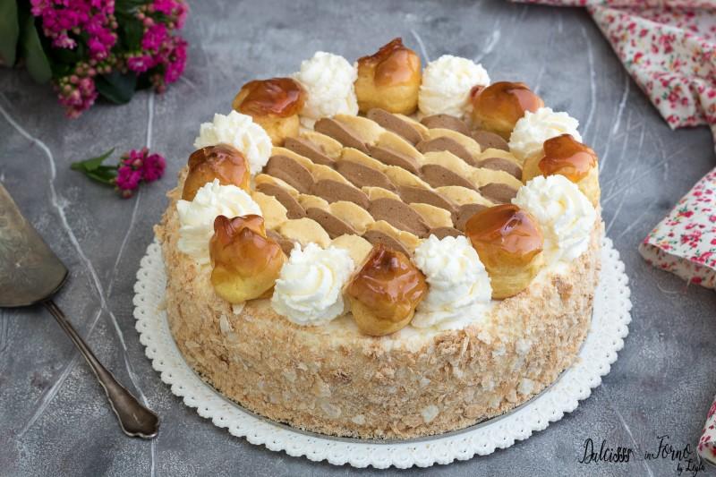 Torta Saint Honorè ricetta
