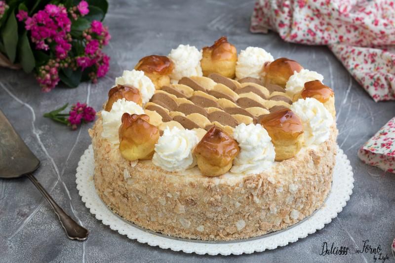 Torta Saint Honorè ricetta originale