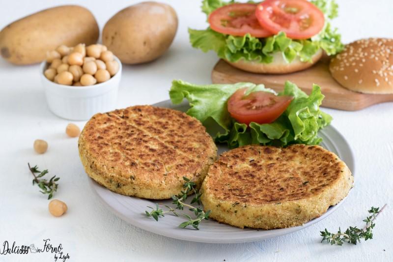 Hamburger di ceci ricetta