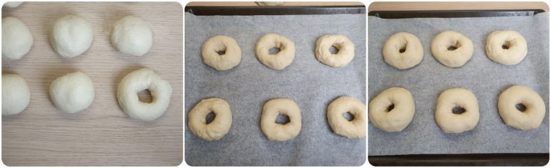 Seconda lievitazione Bagel ricetta