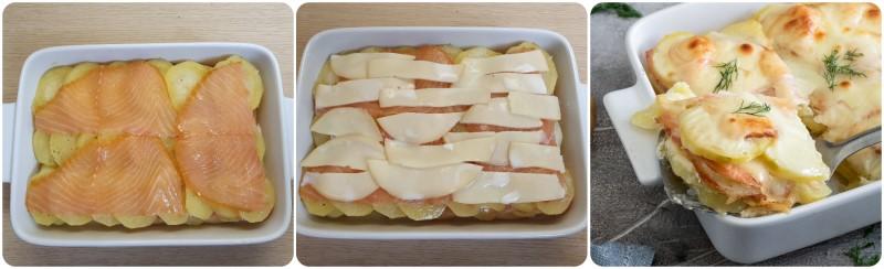 Cottura del Tortino di patate