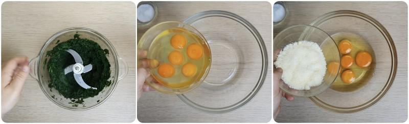 Sbattere le uova con il parmigiano - Rotolo di spinaci