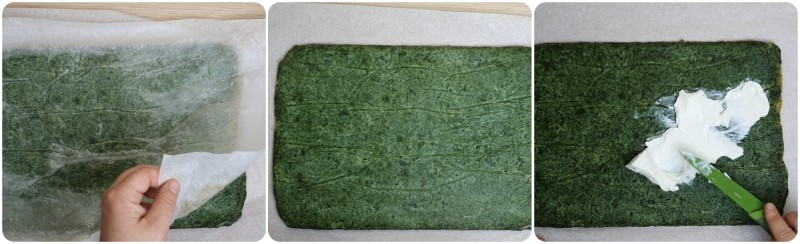 Farcire con formaggio - Frittata di spinaci al forno ricetta