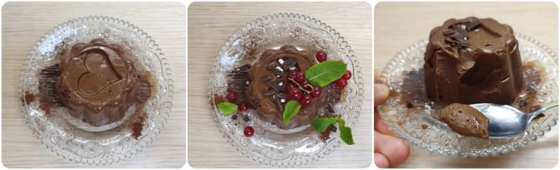 Decorazione del Budino al cioccolato