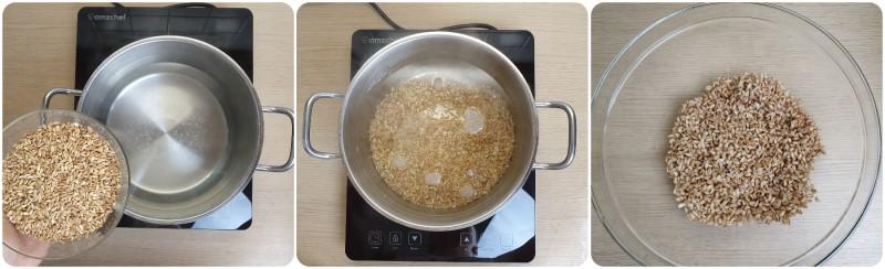 Cottura del farro - Insalata di farro e gamberetti ricetta