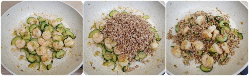 Unire il farro - Insalata di farro e gamberetti ricetta