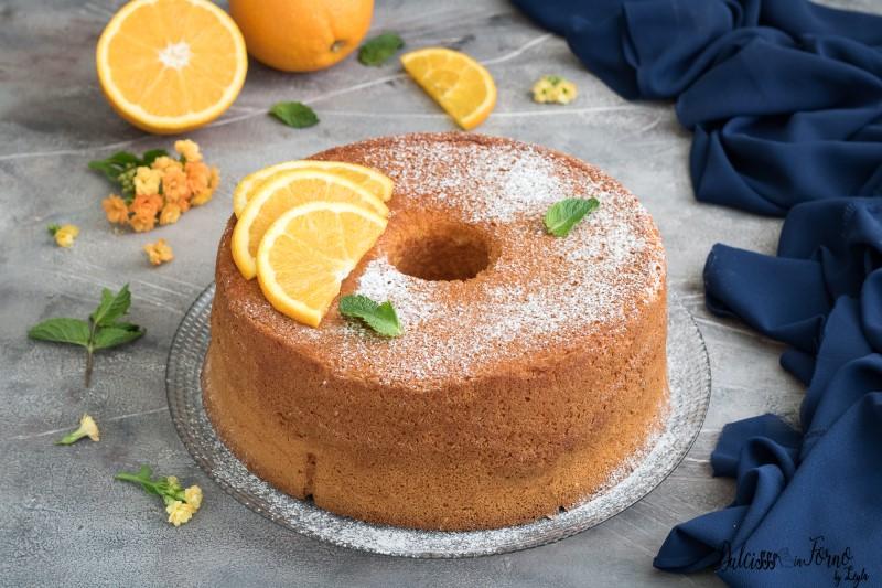 Chiffon Cake all'arancia ricetta