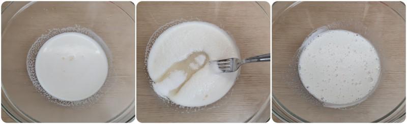 Unire lo zucchero e mescolare - Impasto dolce