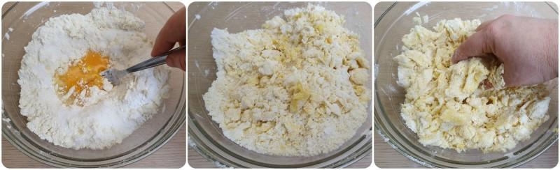Unire uova e zucchero - Crostata alla Nutella ricetta