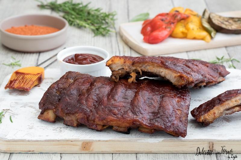 Costine in salsa barbecue ricetta