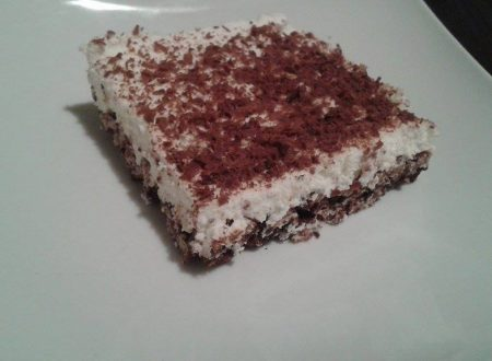 Cheesecake riso soffiato e ricotta