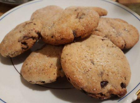 Biscotti con cioccolato