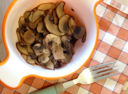 Champignon in padella