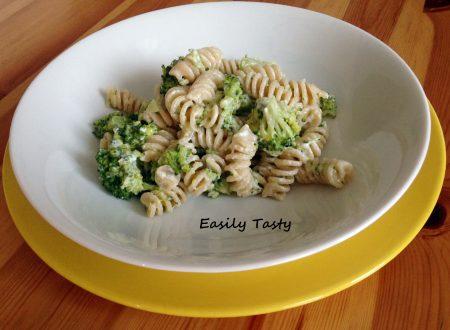 Pasta cremosa ai broccoli