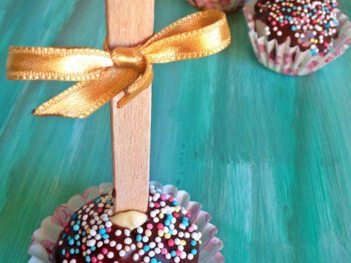 Cake pops di pandoro