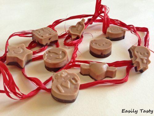 Cioccolatini bicolore alla Nutella®
