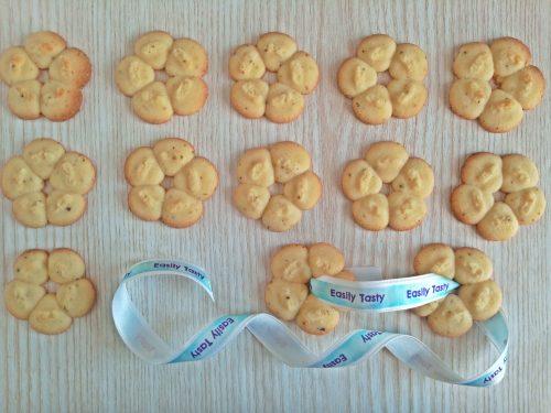 Biscotti di frolla montata zenzero e limone