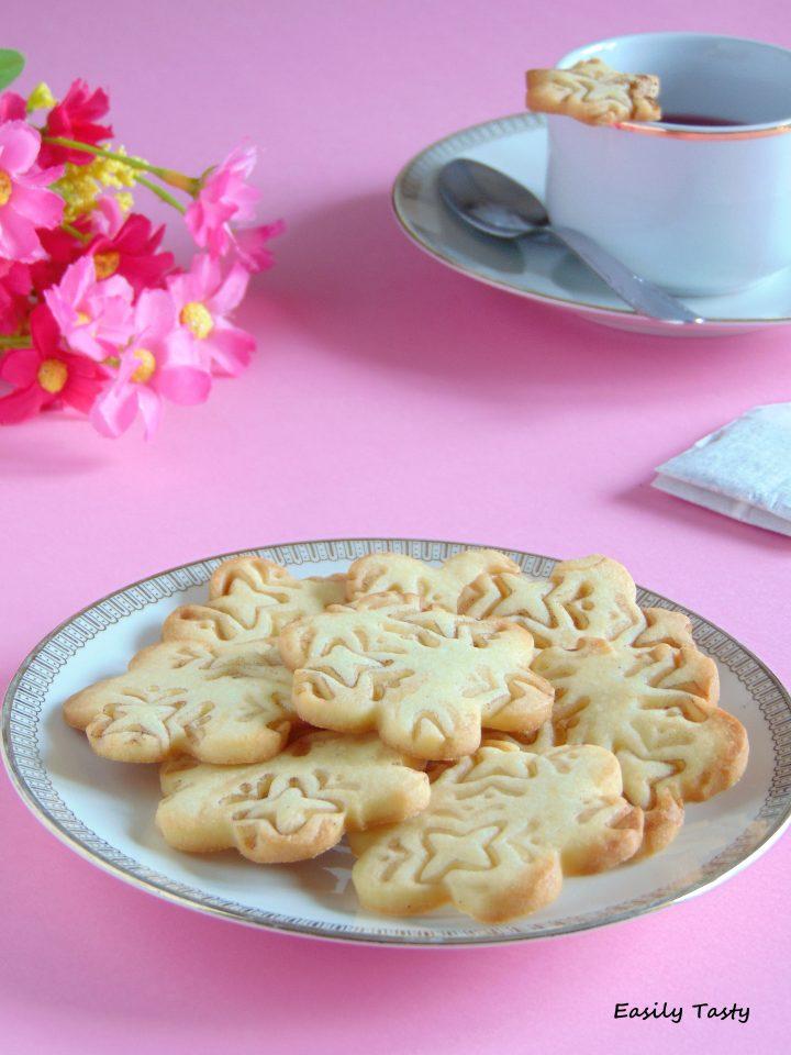 biscotti alla vaniglia decorati