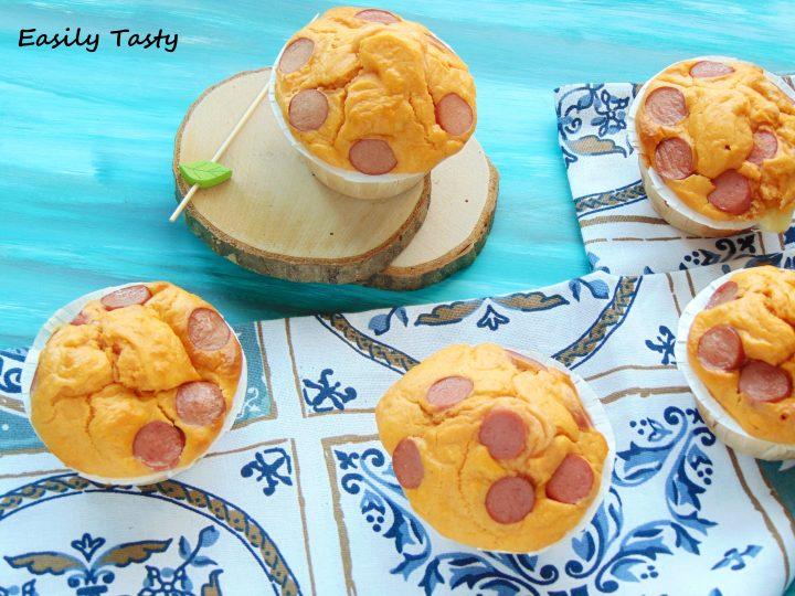 muffin salati a pois