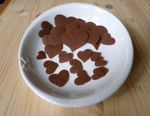 Cuori di cioccolato ricetta tutorial