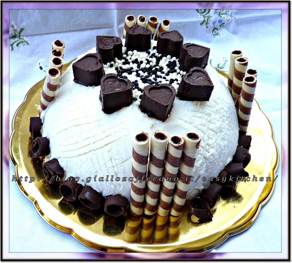 Torta gelato artigianale ricetta dolci facile|Easykitchen