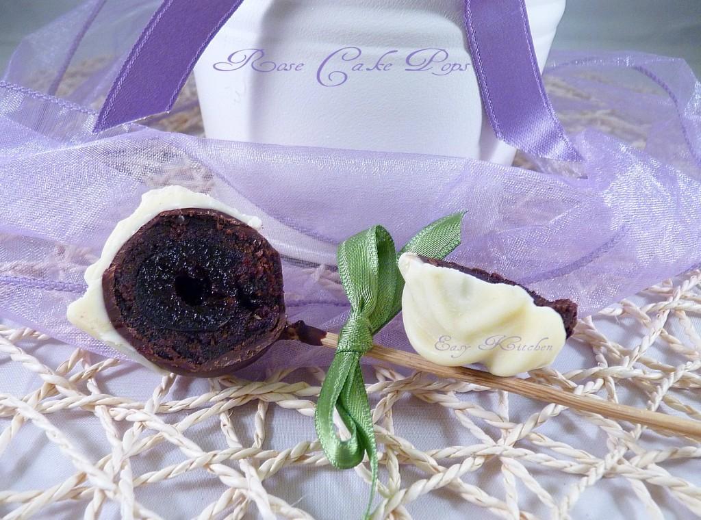 Rose cake pops ricetta elegante e romantica|Easy Kitchen
