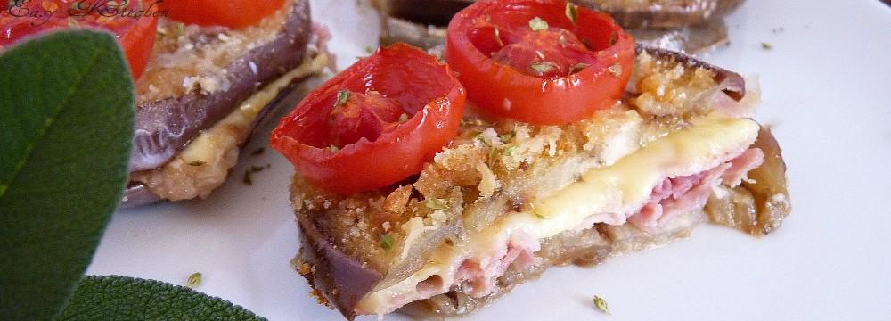 Melanzane farcite al forno ricetta facile e sfiziosa