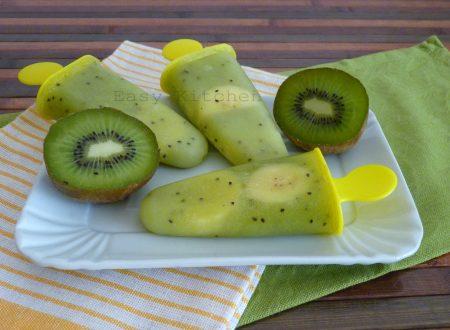 Ghiaccioli di kiwi e banana ricetta light
