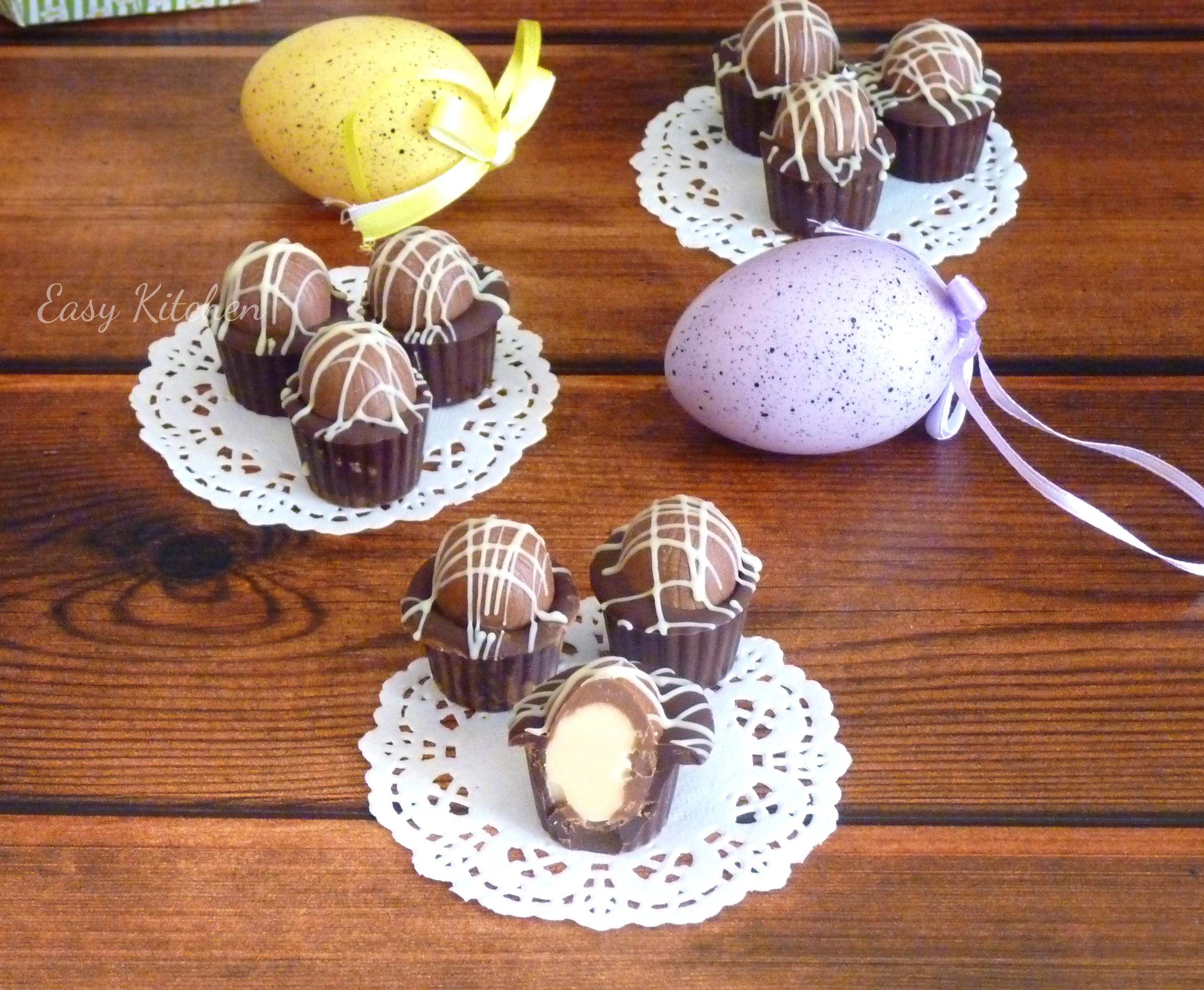 Cioccolatini pasquali furbi facilissimi Easy Kitchen