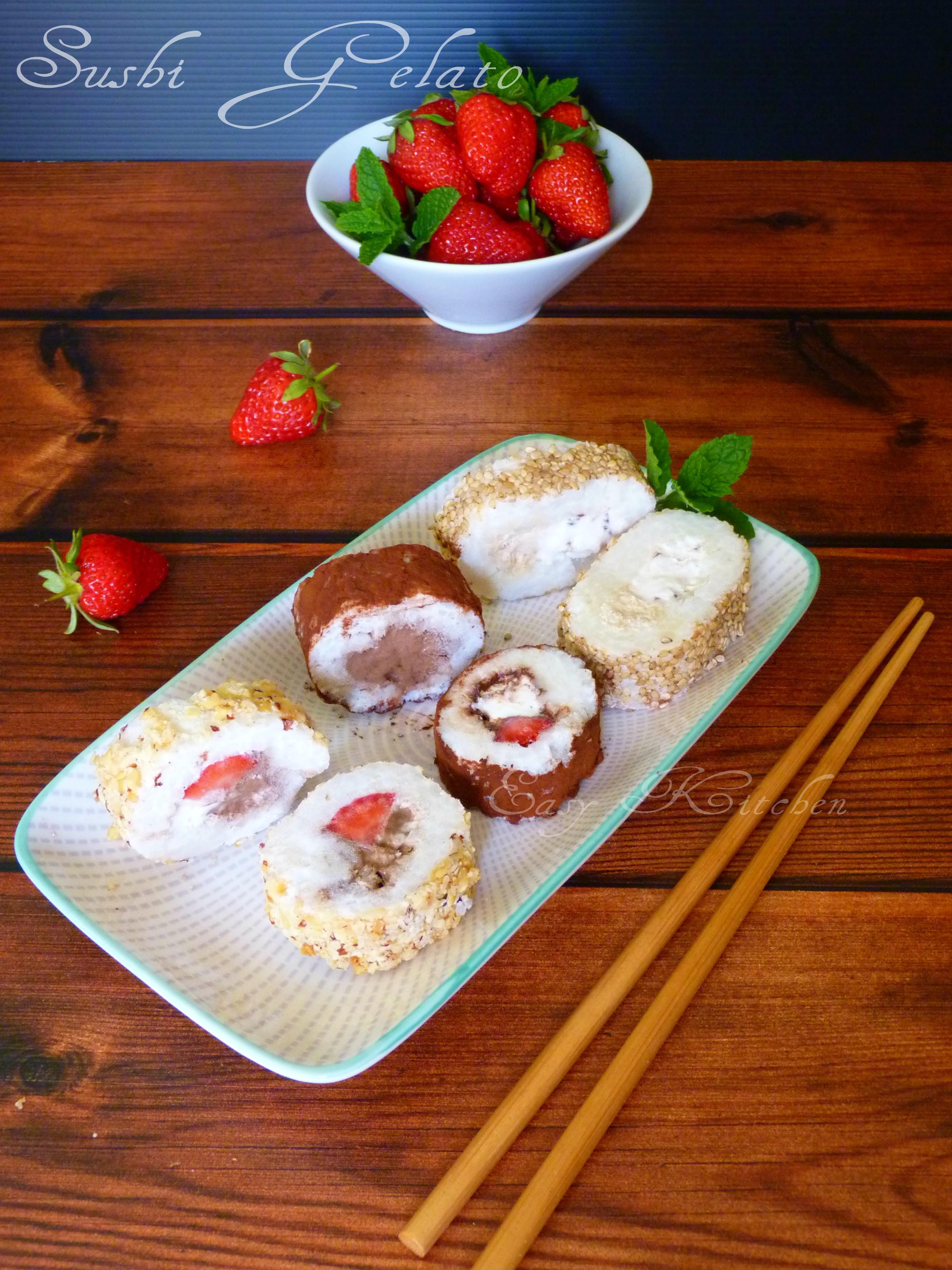 Sushi gelato - Easy Kitchen