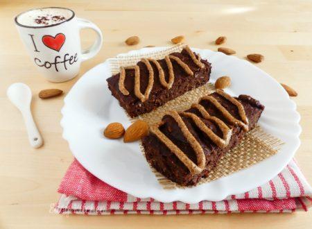 Brownie con patate dolci e burro di mandorle