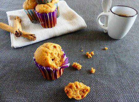 Muffin con patata americana e cannella