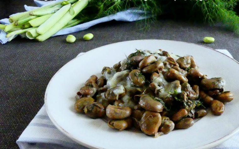 Fave di nonna Tina ricetta contorno sicilian food