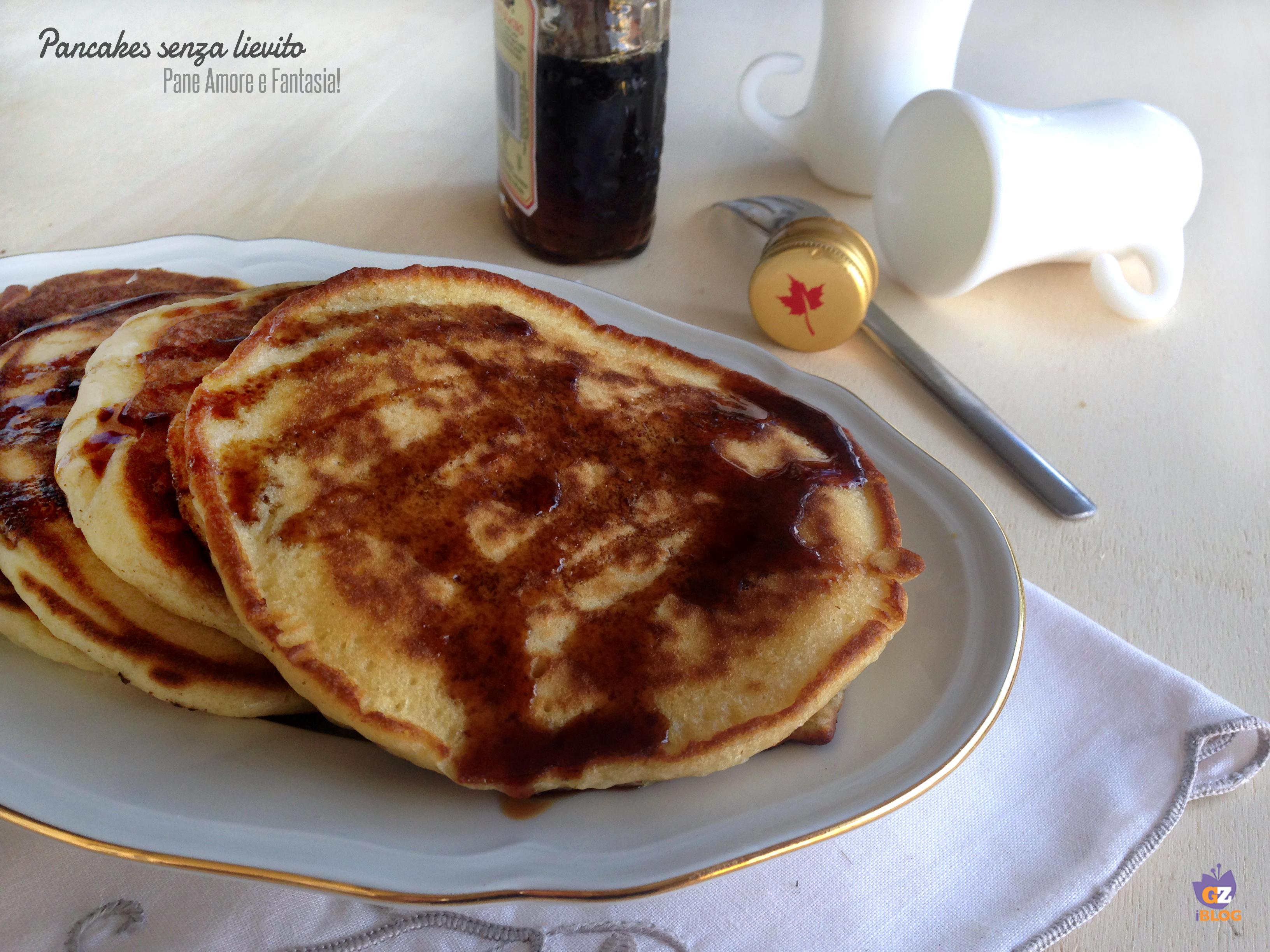 pancakes senza lievito