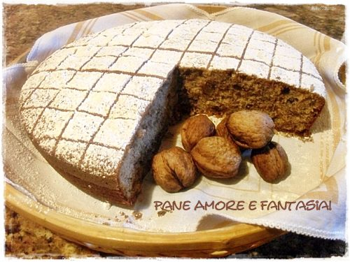 Torta di noci – buona come il pane!