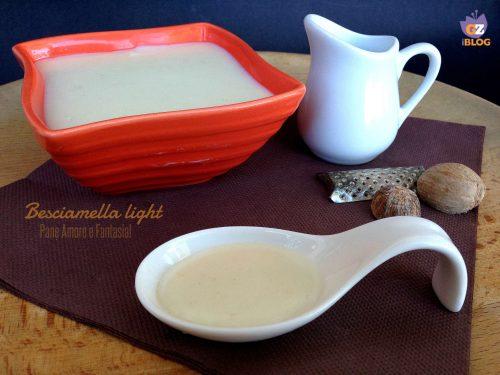 Besciamella light – leggera ma gustosa