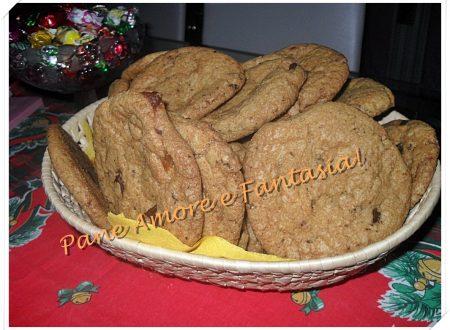 Cookies al cioccolato, biscotti americani