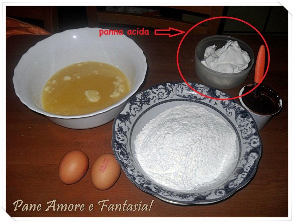 crème fraiche o panna acida