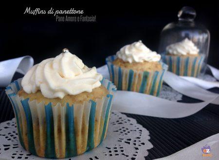 Muffins di panettone, per riciclare gli avanzi