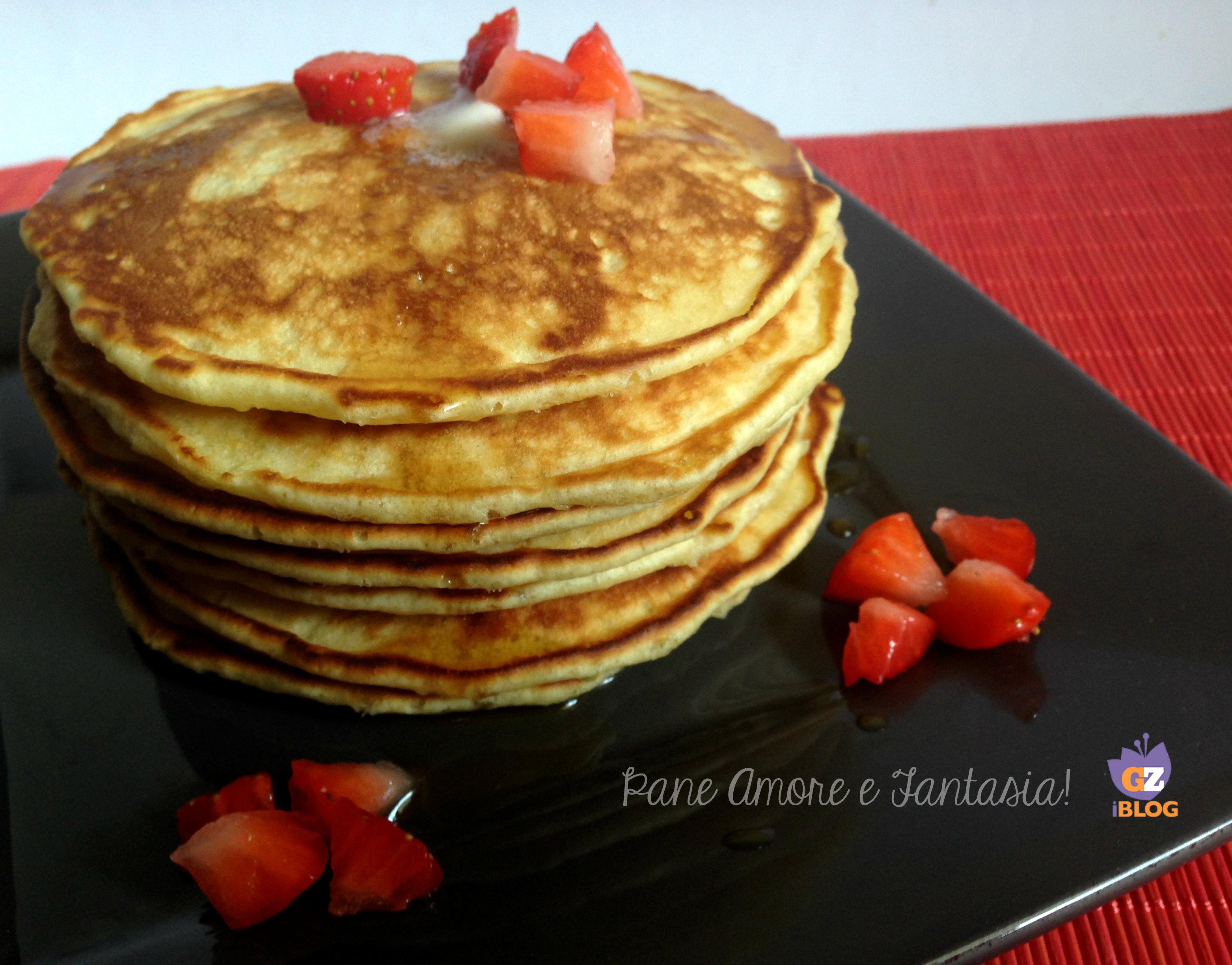 bicarbonato di sodio e limone pancake