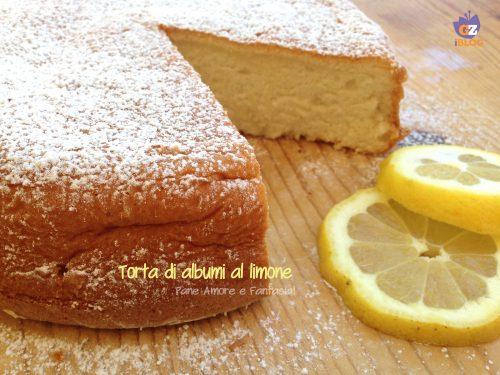 Torta di albumi al limone – golosa ricetta risparmio