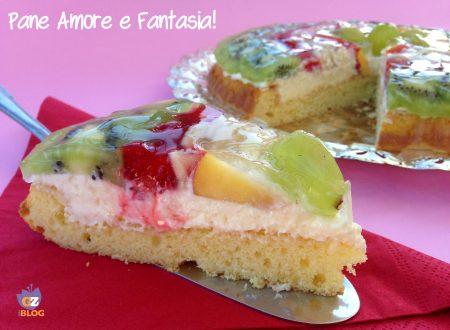 Crostata di frutta con crema al mascarpone – ricetta dolce
