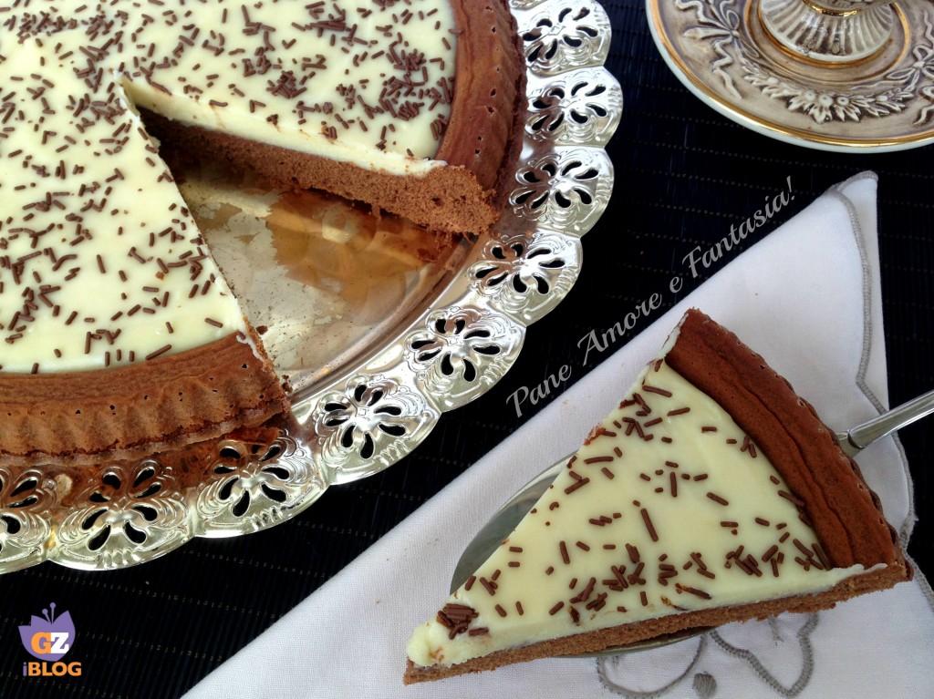 frolla al cacao con cioccolato bianco 3