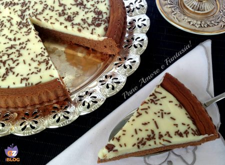 Frolla al cacao con crema al cioccolato bianco – ricetta golosa
