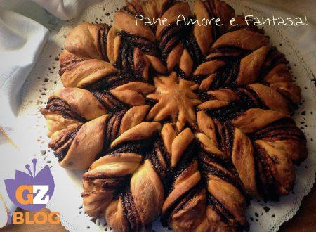 Fiore di Pan Brioche alla Nutella – ricetta dolce