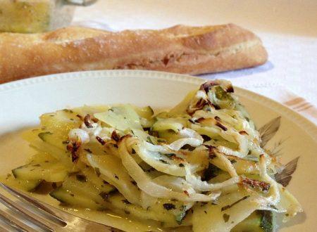 Tortino di zucchine e patate – ricetta facile