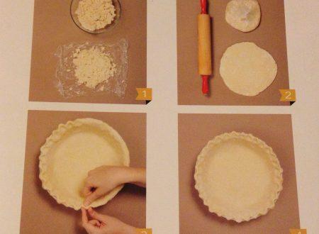 Pie Crust – base per torte pie – ricetta di base