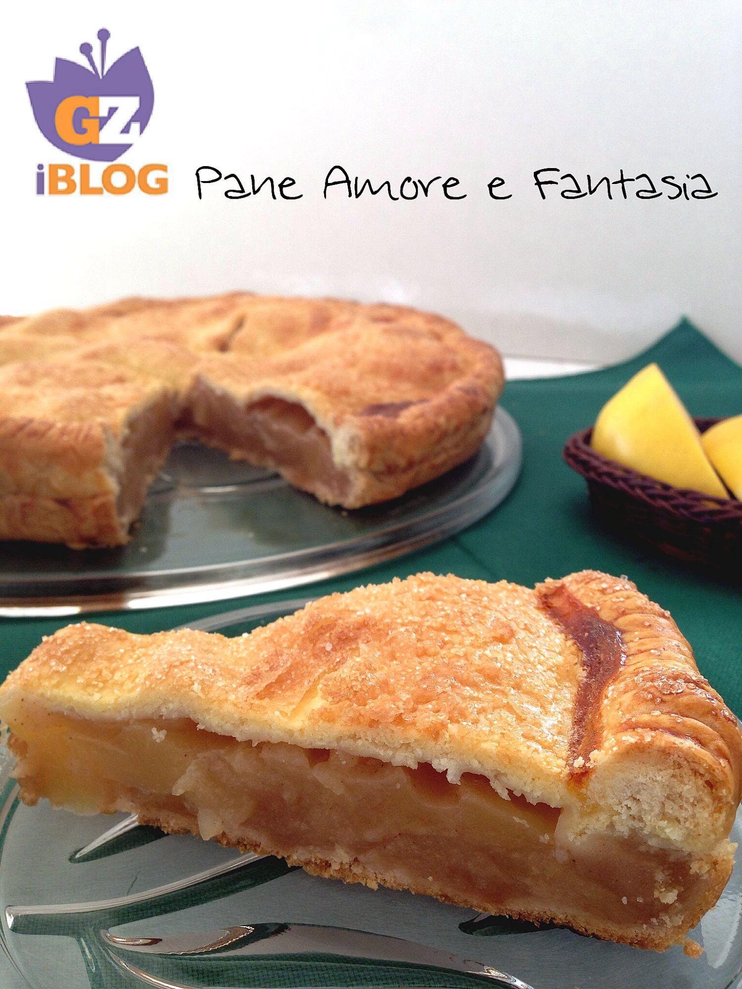 Ricetta Torta Di Mele Americana.Apple Pie Torta Di Mele Americana Ricetta Originale Pane Amore E Fantasia