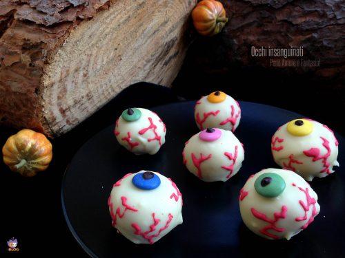 Occhi insanguinati – ricetta golosa di Halloween